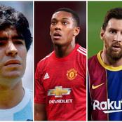 Football Fans Compare Martial With Messi & Maradona After Yesterday Game