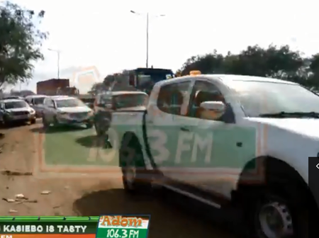 We're Giving The Gov'nt Up To July If Nothing Is Done About Our Roads We'll Protest - Kpone Citizen