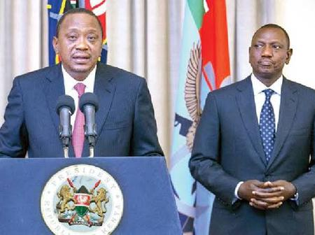 President Uhuru Kenyatta Makes This Move Concerning the Ejection of DP Ruto From Jubilee