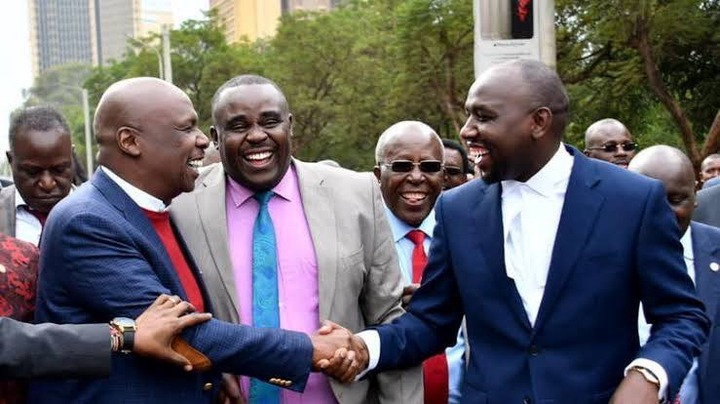 Senator Malala Comforts Murkomen With an Inspirational Bible Verse - Opera  News