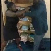 Man Beats Female Lawyer Mercilessly After Loosing A Court Case In Cameroon (Photos)