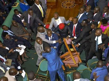 Fireworks as ANC And ODM Mps Clash in Parliament as Malala Dares ODM to Leave BBI