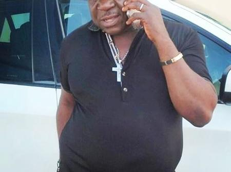 Photos: Actor Mr Ibu's huge Potbelly leaves fans worried over his health