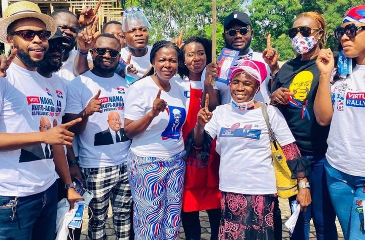 6831f6610b6d103486b2bdc89d6358da?quality=uhq&resize=720 - John Dumelo And Hon Lydia Alhassan Celebrities Campaign Team, Who Is More Influential? (Photos)