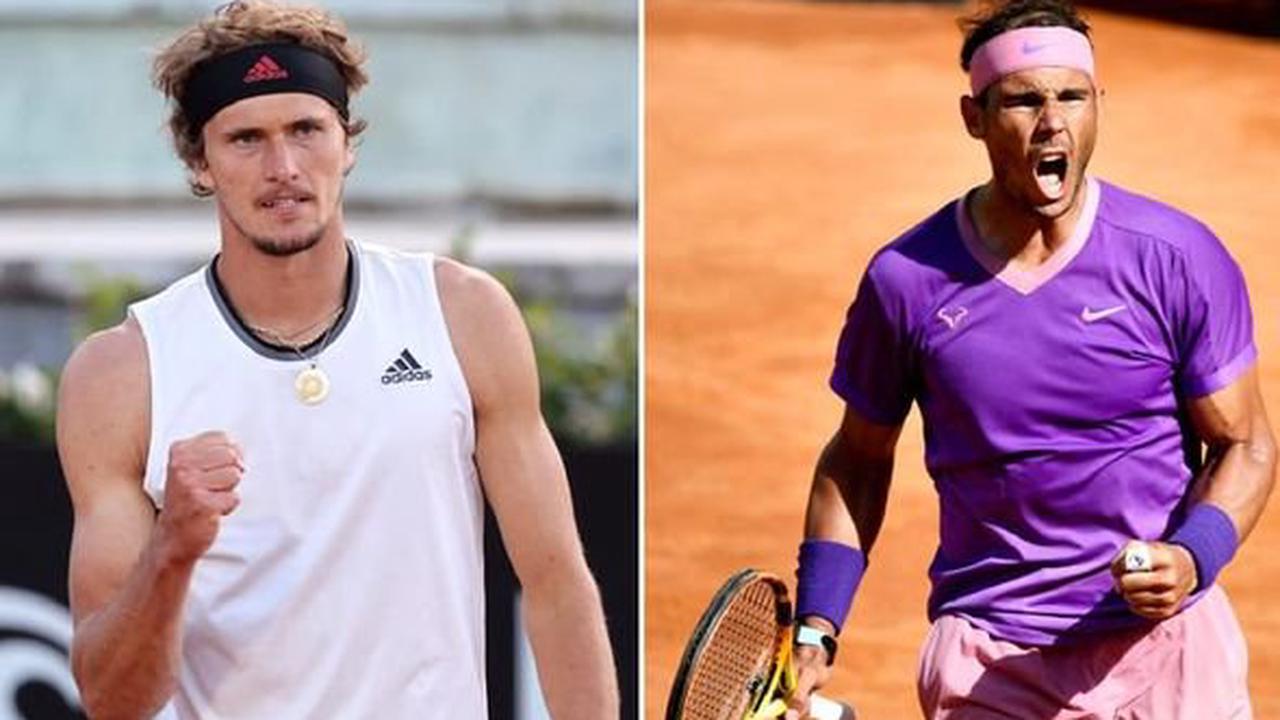 Rafael Nadal sent message by Alexander Zverev as Spaniard bids for Italian Open revenge