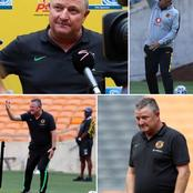 "Gavin Hunt reveal he feels ""strained, and not easy to coach Kaizer Chiefs"""