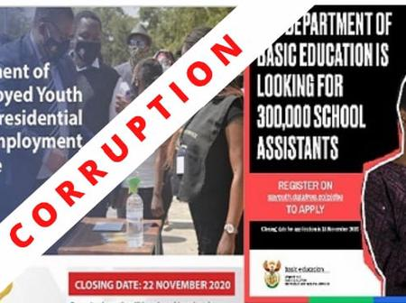 Presidential Youth Employment Corruption In Gauteng.