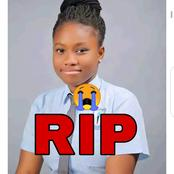 Lessons to Learn As Girl Who got 7 A's in Her WAEC result has Been Confirmed Dead After Illness