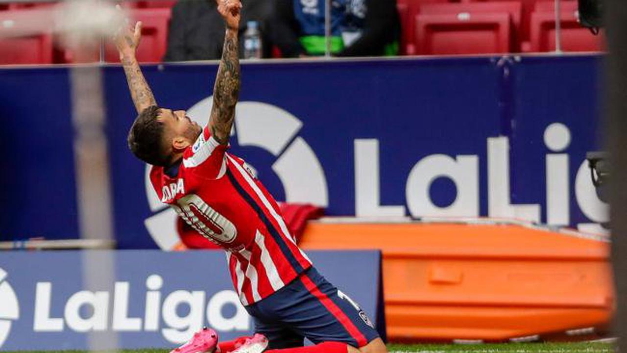 Atletico Madrid back on top in LaLiga after Huesca win