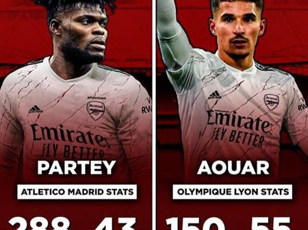 Don't Ever Compare Thomas Partey To Houssem Aouar, See Their Clubs Stats Here