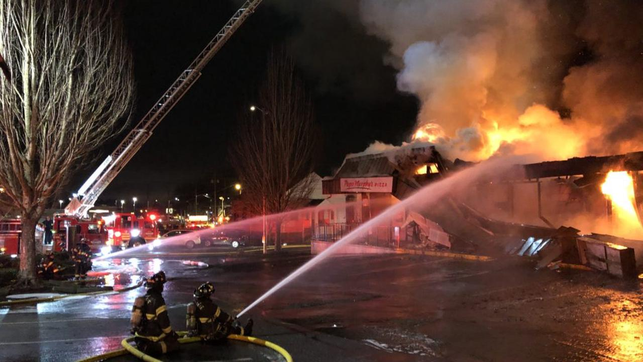 2-Alarm fire in Lake City neighborhood