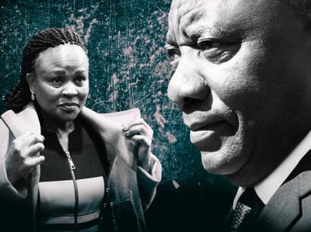 Ramaphosa's weapon pending in his war with Busisiwe Mkhwebane