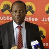 Tuju Distance Himself From Murathe's Sentiments on Ruto's Eviction From Karen Office