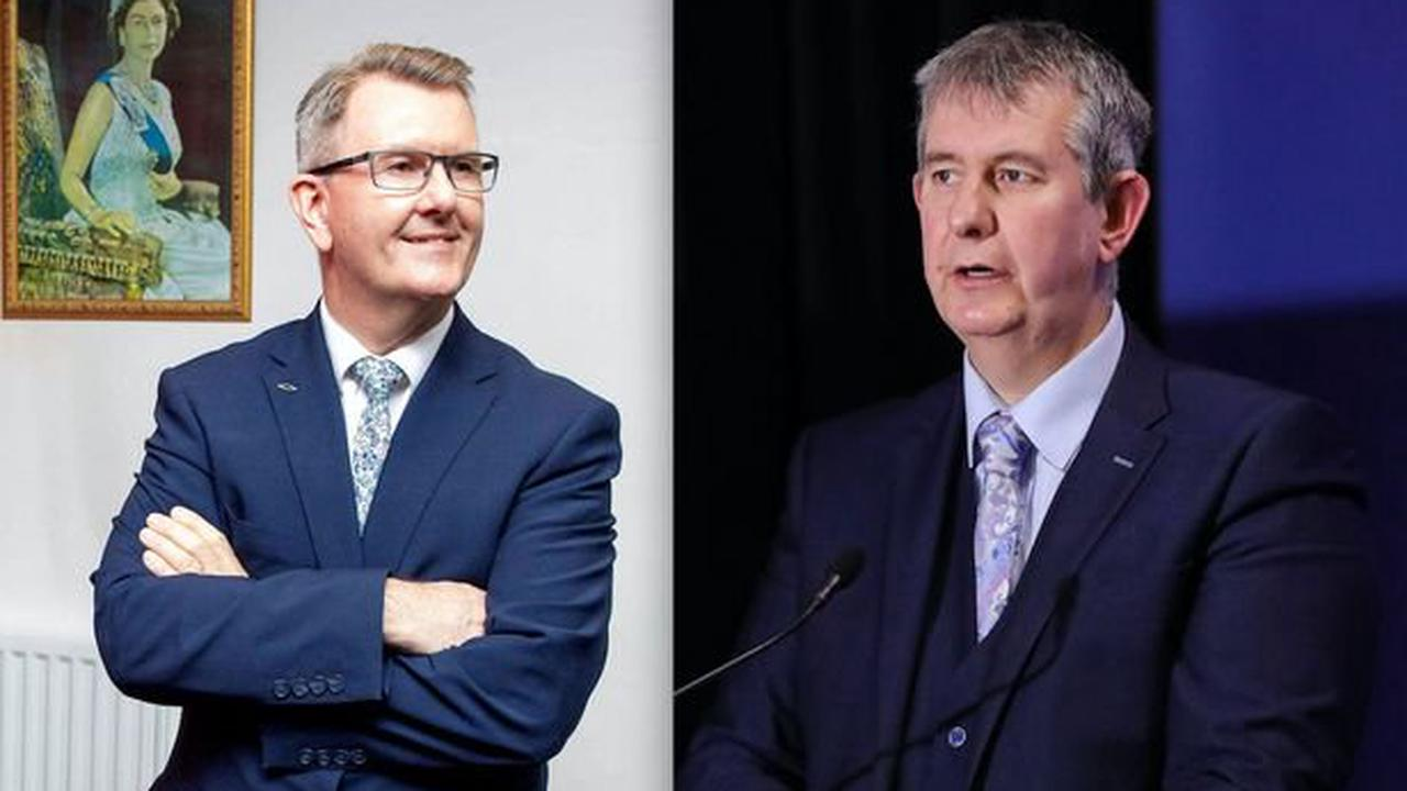 DUP to elect new leader in battle between Jeffrey Donaldson and Edwin Poots