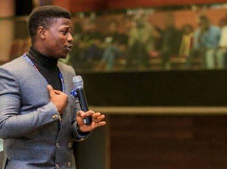 Meet the Youngest Commissioner in Oyo State and probably in Nigeria. He's currently 28 year-old.