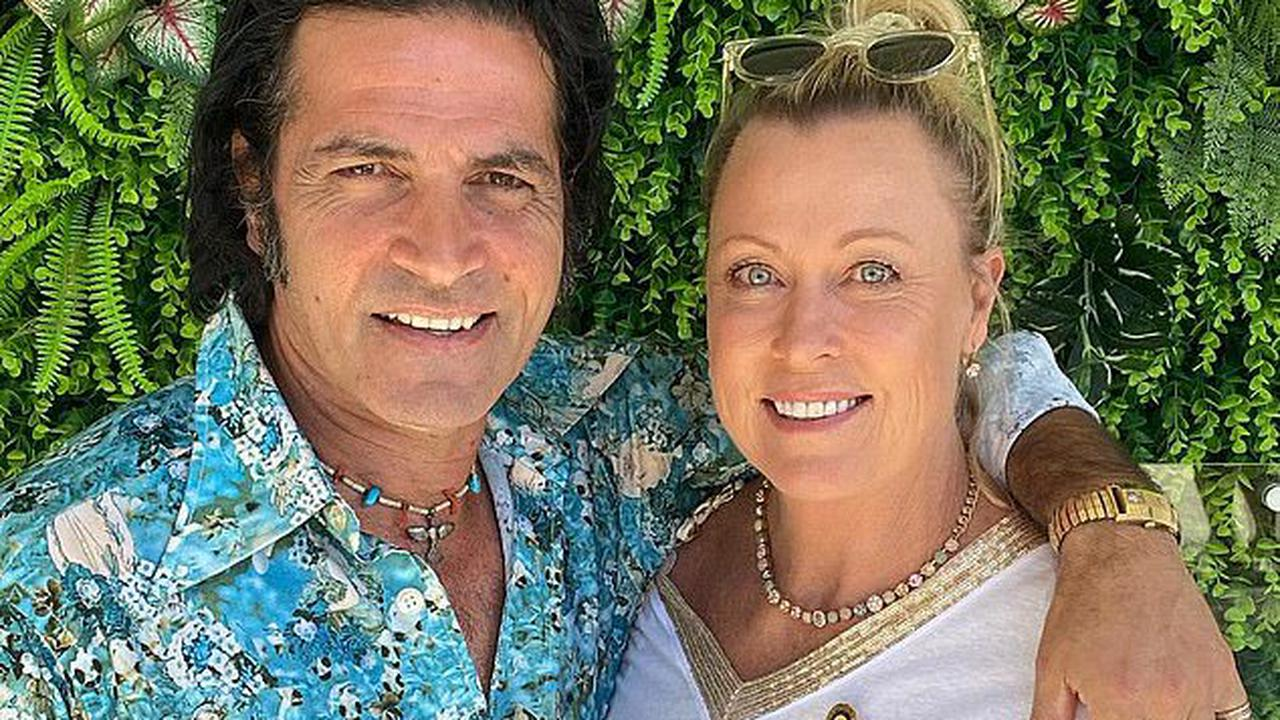 Lisa Curry shares intimate photo with husband Mark Tabone saying she 'couldn't get through each day without him'