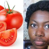 Benefits of Applying Tomatoes On Face