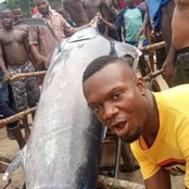 Man From Delta State Caught And Ate Fish Worth ₦1.2 Billion.