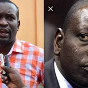 Leave Independent Institutions Alone; Edwin Sifuna Uses DP Ruto Words Against His Own Allies On DCI