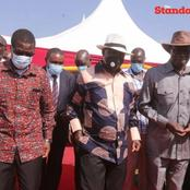 Raila Attends The Burial Of The Late Mama Selina Nasike In Bungoma County