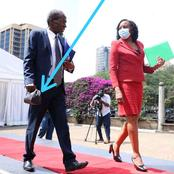 What Kenyans Noticed From This Photo Of Justice Marete After He Concluded His Interview Before JSC