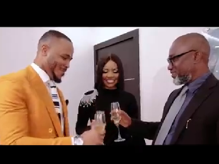 Wathoni, Noble Igwe and others react as BBNaija Ozo and Nengi bags new endorsement (photos)