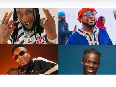 Wizkid, Rema, Burnaby and Davido get nominated for MOBO awards