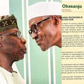 See The Open Letter Obasanjo Wrote To Buhari That Got Many People Talking