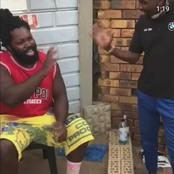 South Africans Left In Stitches After Big Zulu Reprimanded 'Taxi Driver'