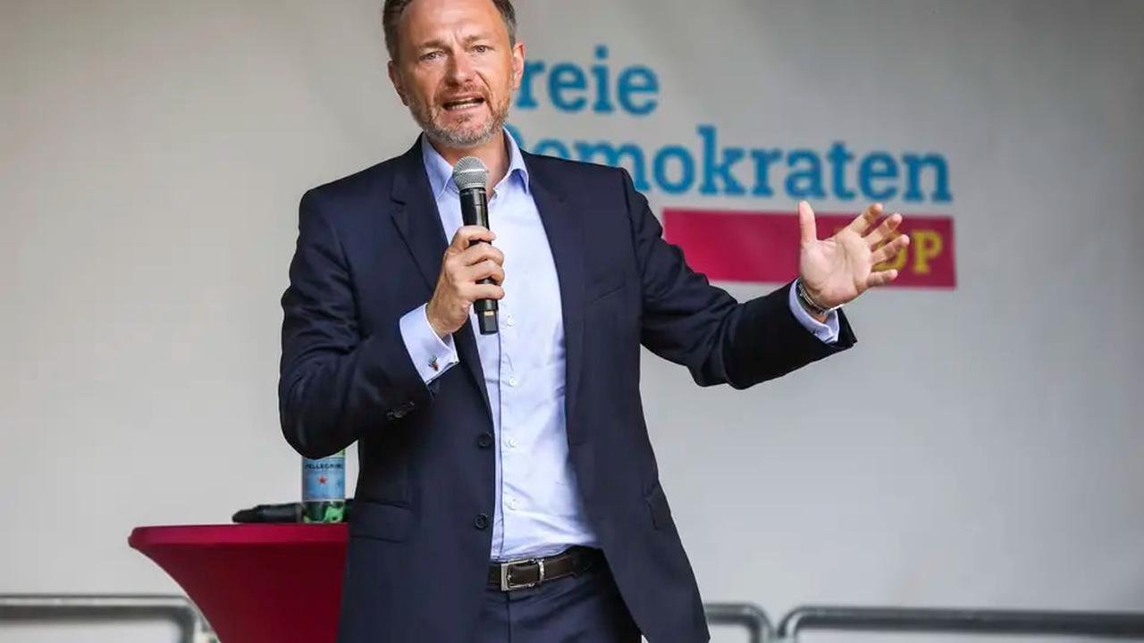 Bundestagswahl: FDP-Chef Lindner will die Grünen noch einholen
