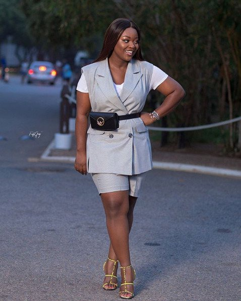 Jackie Appiah 10 Ways To Wear Blazers