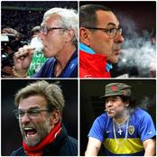 Meet Top 9 Football Managers That Smokes [Photos].