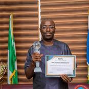 Bayelsa: The Vice Chancellor of Niger Delta University, Prof. Samuel bagged another award