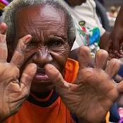 Tribe where relatives chop off their fingers to mourn their relatives