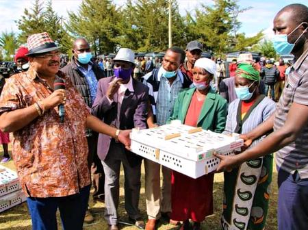 Hon Kiprop Mishra Shares Easter Holiday with his Constituents