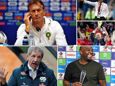 Top5 coaches running for Bafana job revealed as Queiros wanted by SAFA