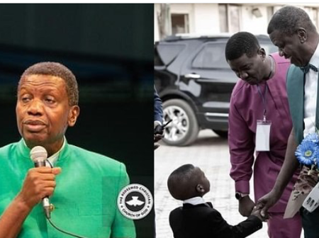 Pastor Adeboye Shares Story Of How He Mistakenly Ate Someone's Food, As A Poor Young Man In 1956.