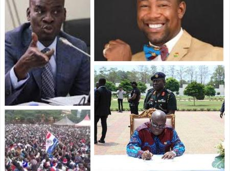 Haruna Iddrisu recommended one former NPP MP for appointment in Nana Addo's second term in 2021.