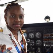 [Meet]: The Youngest Female Commercial Pilot In Ghana Audrey Maame Esi Swatson; +photo