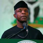 VP Osinbajo Clocks 64 Years Today