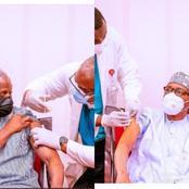 Mixed Reactions As President Buhari And His Vice Yemi Osibajo Recieve Covid-19 Vaccine