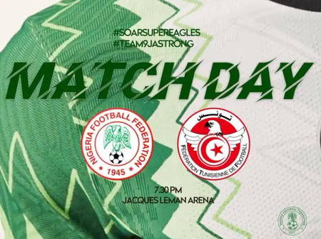 Covid-19 Test Report, Head To Head And All You Need To Know Ahead Of Nigeria Vs Tunisia Clash