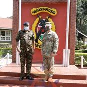 History Made At Kenya Army Headquarters As Commander US Army Africa Visits