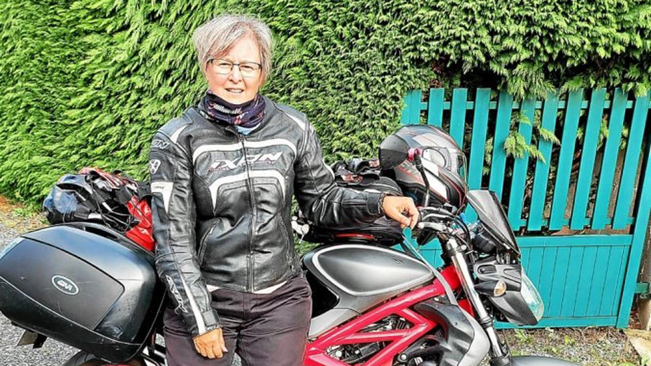 La Fouesnantaise Cathy Kerloch ne sera pas cette année aux côtés des Motards de l'Espoir