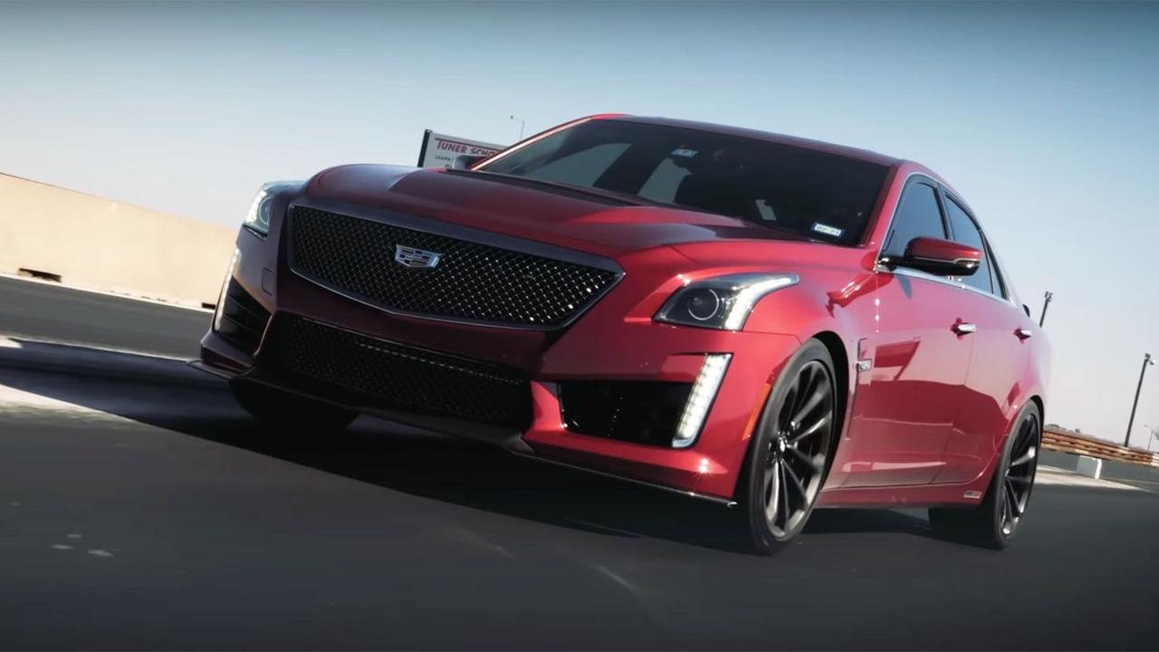 Luxurious Vehicles - Hennessey's 1000-HP Cadillac CTS-V Is One Imply-Sounding Luxurious Sedan