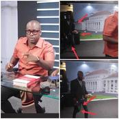 See What Paul Adom Otchere Did To His Crew Member Behind The Scenes Of GEG Show