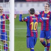 Good news for Barcelona Football Club ahead of Wednesday's clash.