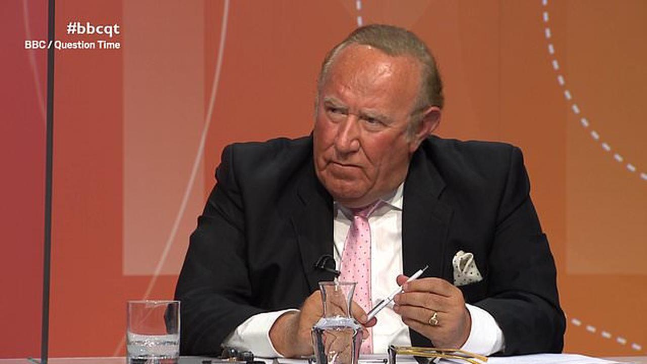 Nels Abbey condemns Andrew Neil's claim he 'abused' him on Question Time