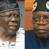 Bode George Blast Tinubu, Says Lagos Ship Has Been Sinking Since He Took Over Control Of The State