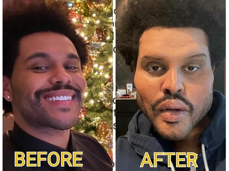 Check out the name that most people are calling The Weeknd, after he unveiled his new look